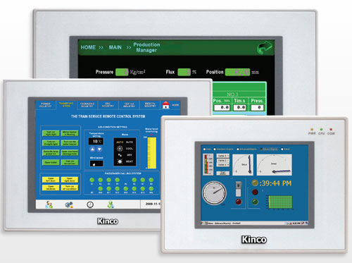 MT5000 : Fieldbus-Capable HMIs for High-End Applications